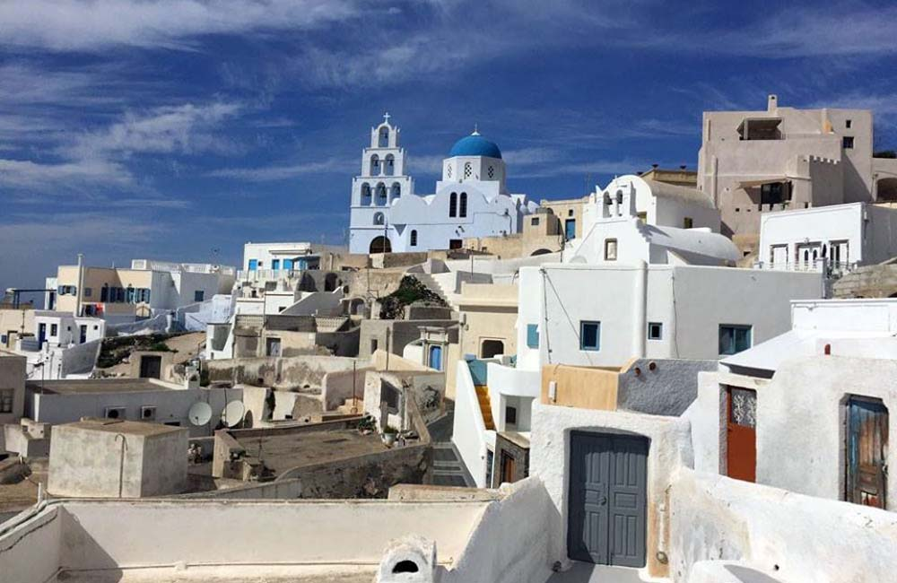 Naxos, Small Cyclades & Santorini 1