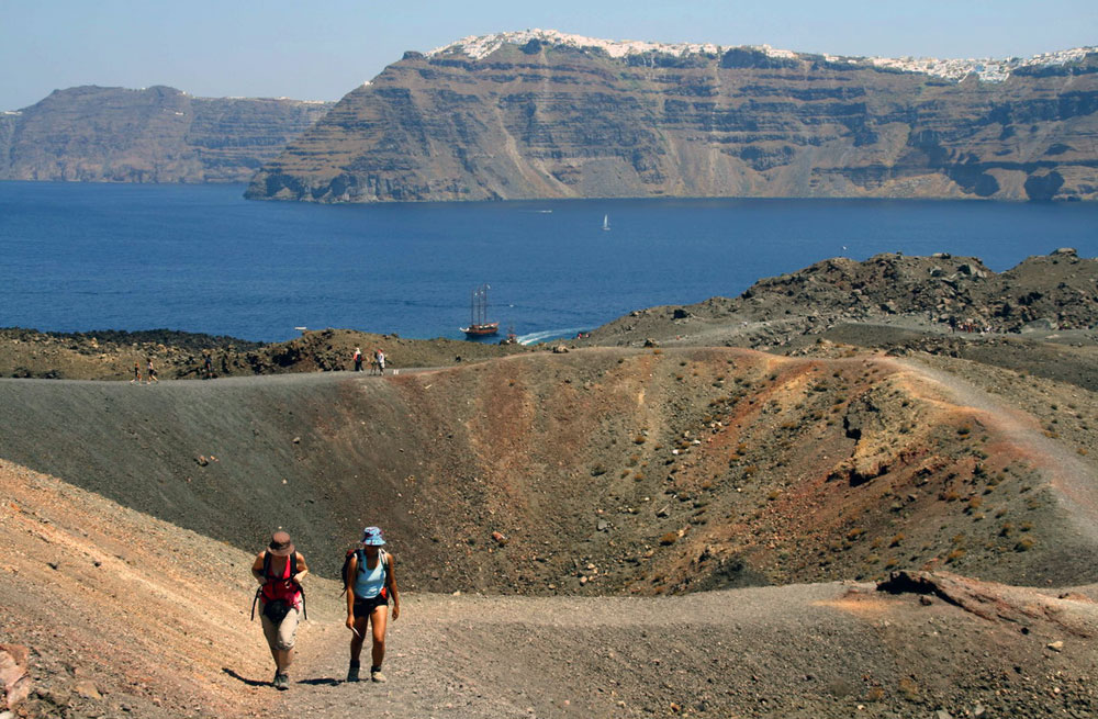 Naxos, Small Cyclades & Santorini walking holiday