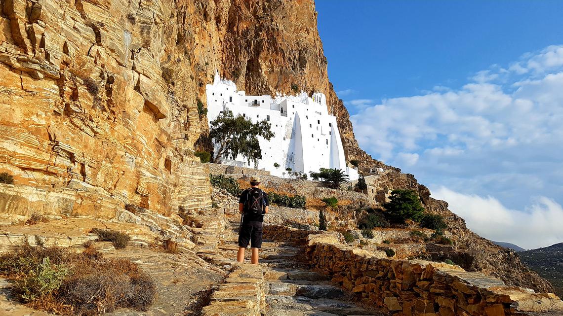 Naxos, Iraklia & Amorgos self-guided walking holiday