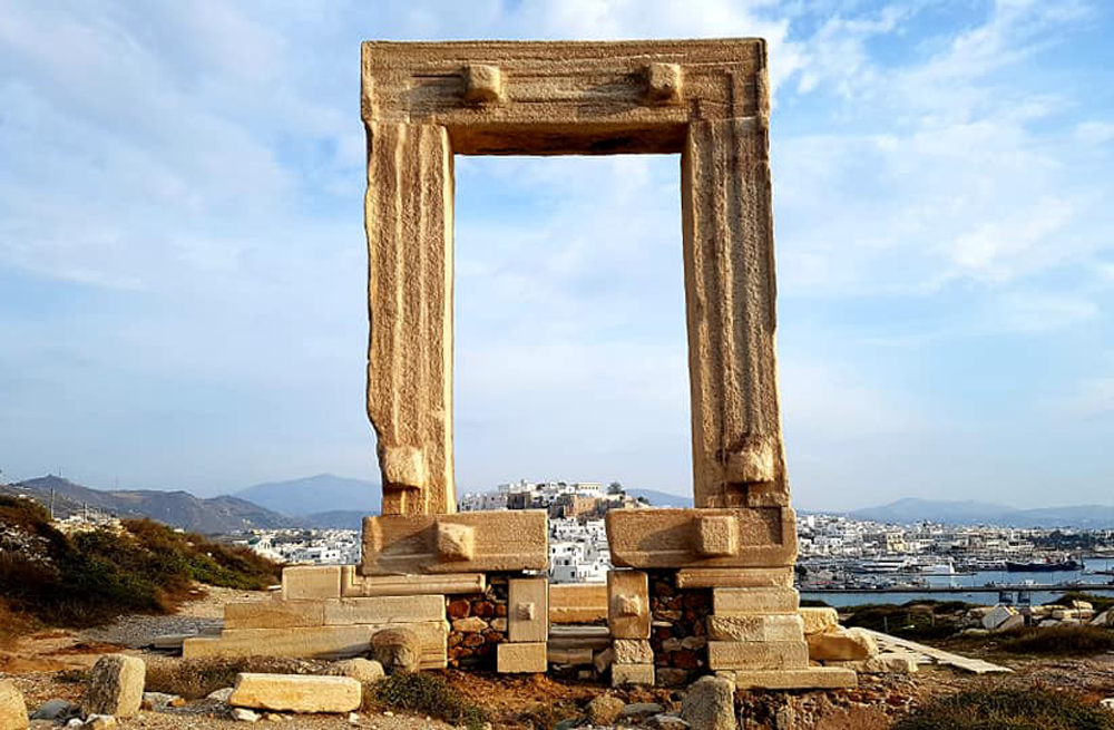 Naxos self guided walking