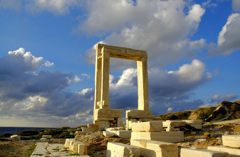 naxos cyclades portara walking holidays nofootprint.gr