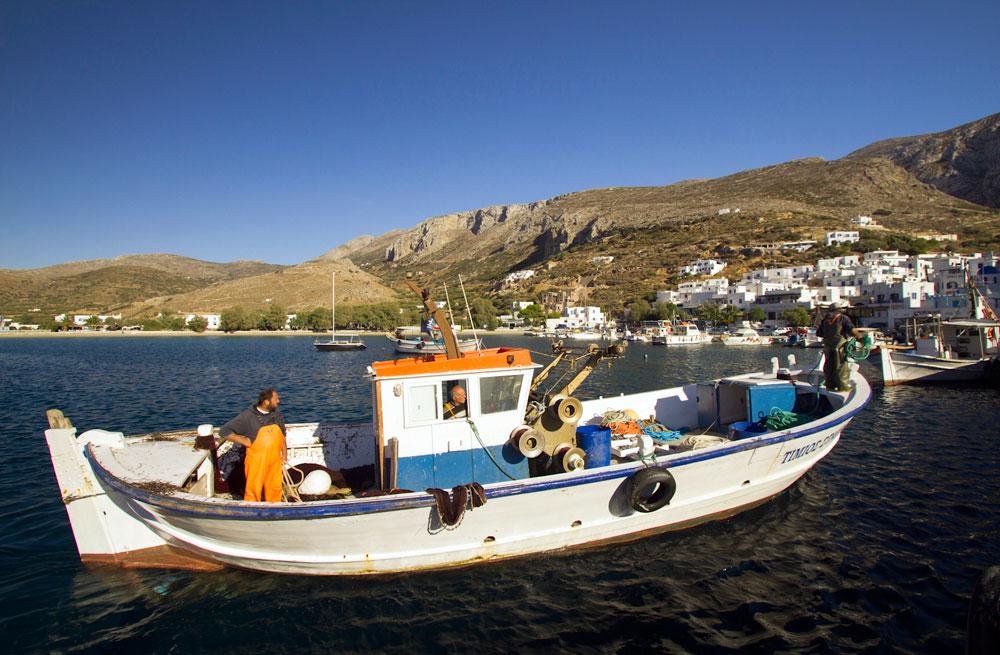 Cyclades sailing & walking holiday 22