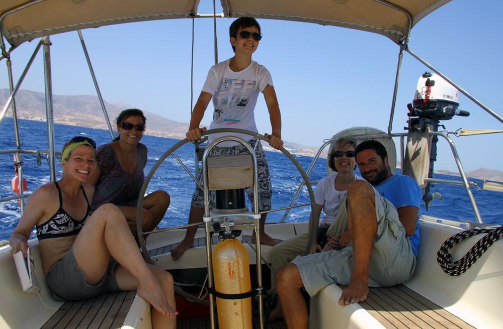 Cyclades sailing & walking holiday 3