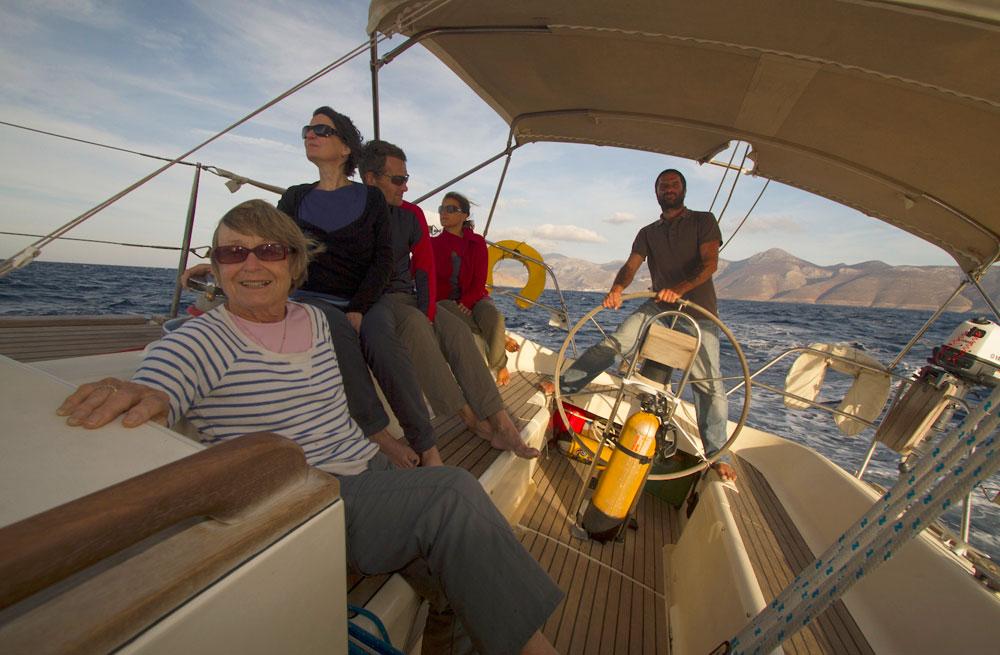 Cyclades sailing & walking holiday 41