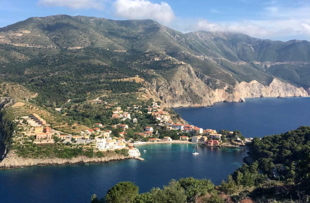 Ionian islands walking holiday 9