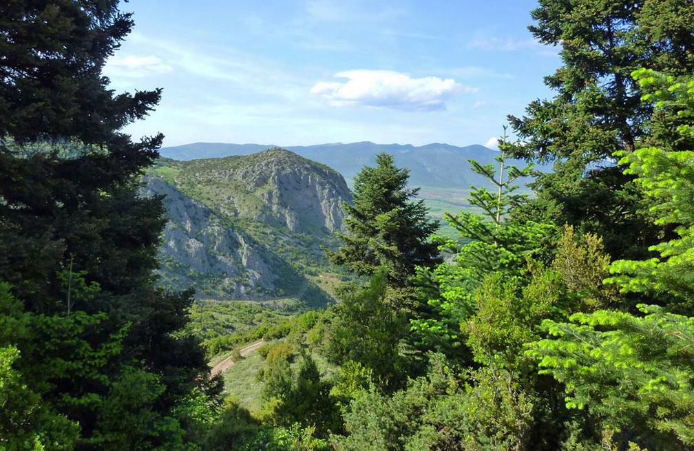 Delphi short break walking holiday