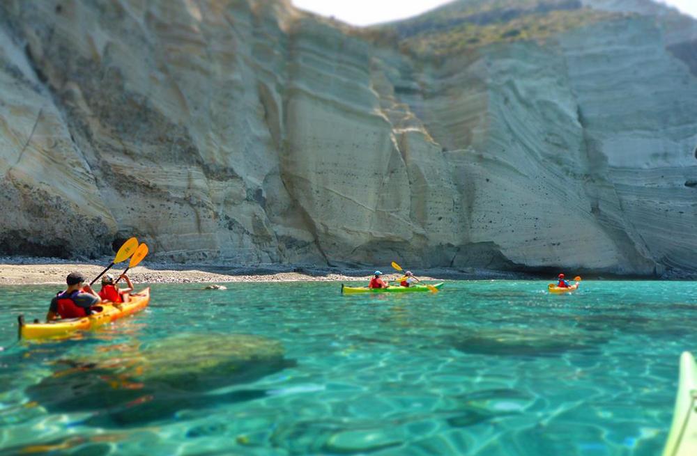Ionian islands sea kayak, hike & wild camp holiday