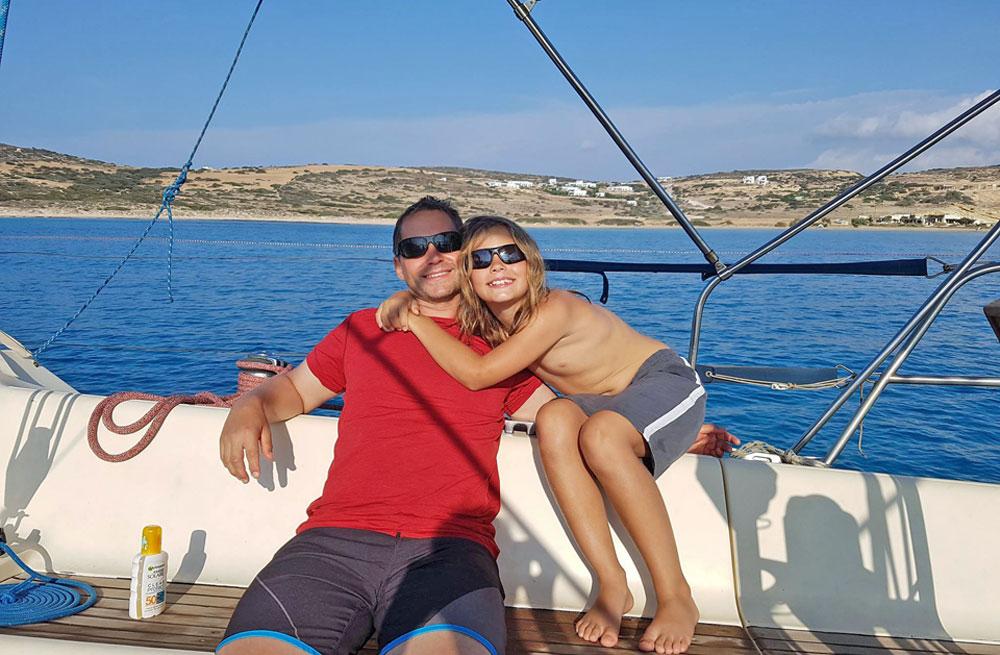 Cyclades wildlife sailing 4