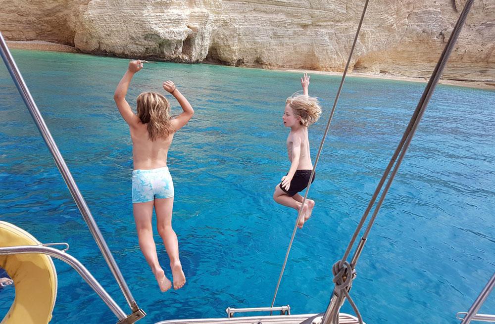 Cyclades wildlife sailing 5