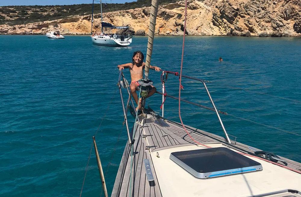 Cyclades wildlife sailing holiday 26