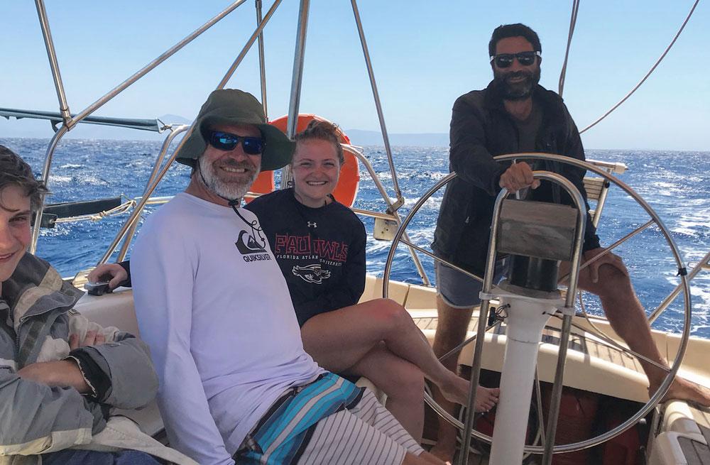 Cyclades wildlife sailing holiday 27