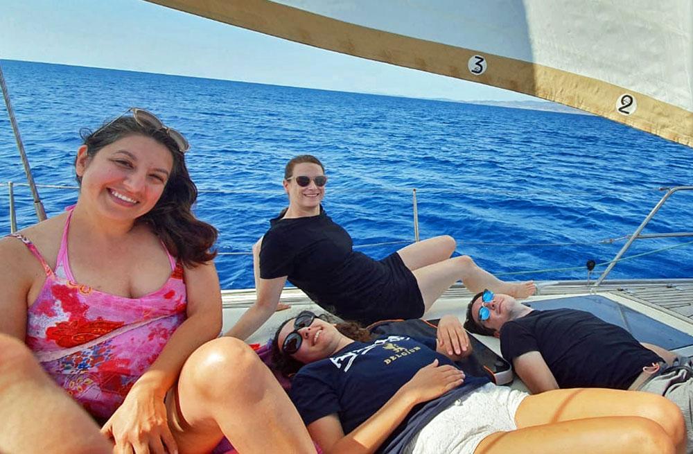 Cyclades wildlife sailing holiday 3