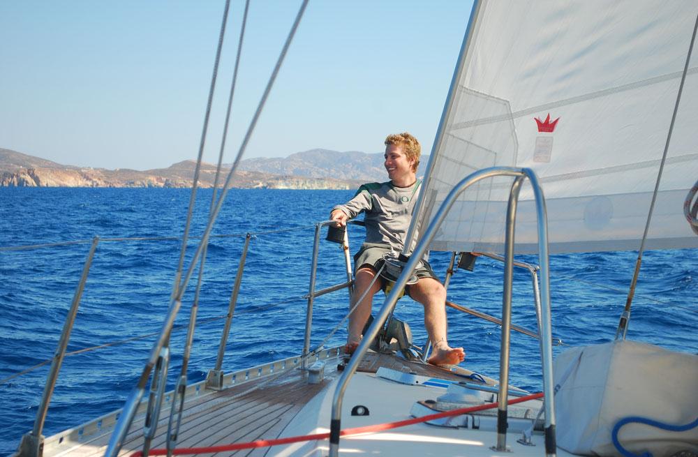 Cyclades wildlife sailing holiday 6